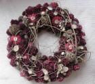 Výrobek: Vánoční věneček se sušenými květy
