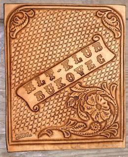 Obrázek výrobku: Originální kožený obal na knihy 3