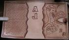 Výrobek: Originální kožený obal na knihy