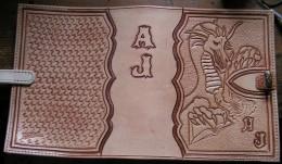 Obrázek výrobku: Originální kožený obal na knihy