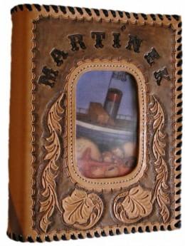 Obrázek výrobku: Originální kožený obal na fotoalbum