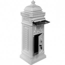 Obrázek výrobku: Poštovní schránka starožitná antik - bílá