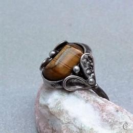 Obrázek výrobku: Prsten s Tygřím okem