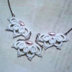 Výrobek: Originální Náhrdelník s růžovými perlami