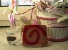 Výrobek: Rostlinné glycerínové mýdlo - švestka