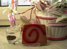 Obrázek výrobku: Rostlinné glycerínové mýdlo - švestka