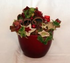 Výrobek: Vánoční květináč