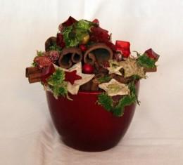 Obrázek výrobku: Vánoční květináč