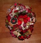 Výrobek: Karkulka - vánoční věnec