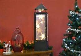 Obrázek výrobku: Vánoční dekorace - holografická 3D lucerna - 70 cm, 20 LED diod