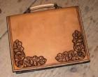 Výrobek: Originální kožená pánská aktovka
