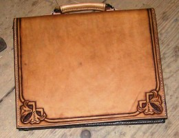 Obrázek výrobku: Originální kožená pánská aktovka2
