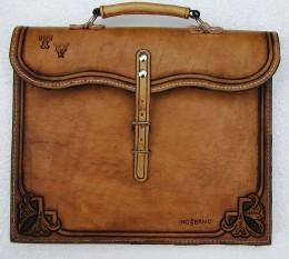 Obrázek výrobku: Originální kožená pánská aktovka3