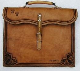 Obrázek výrobku: Originální kožená pánská aktovka4