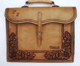 Obrázek výrobku: Originální kožená pánská aktovka5
