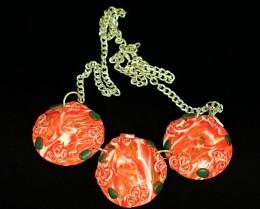 Obrázek výrobku: Náhrdelník s růžičkami