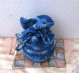 Obrázek výrobku: Patlíček pro štěstí -  na cokoliv - modrý melír