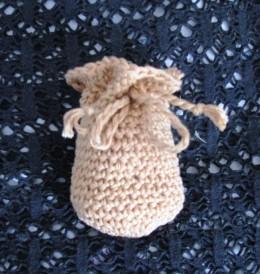 Obrázek výrobku: Pytlíček pro štěstí - na cokoliv - béžový