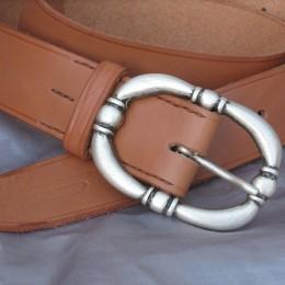 Obrázek výrobku: Kožený dámský opasek - TRITON - přírodní