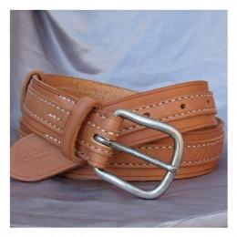 Obrázek výrobku: Luxusní dámský kožený opasek - AURORA - barva přírodní