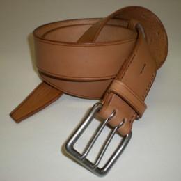 Obrázek výrobku: Dámsk kožený opasek - PERSES - barva přírodní