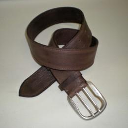 Obrázek výrobku: Dský kožený opasek - ADONIS - barva hnědá