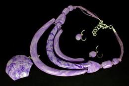 Obrázek výrobku: Fialkové oblouky s přívěskem