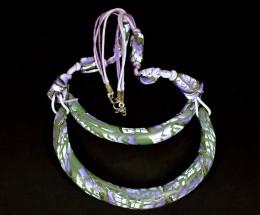 Obrázek výrobku: Fialové oblouky s geometrickými vzory