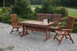 Obrázek výrobku: Zahradní dřevěné křeslo ANETA