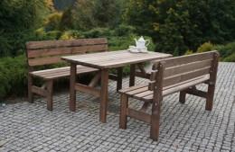 Obrázek výrobku: Zahradní dřevěná lavice MIRIAM