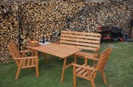 Obrázek výrobku: Zahradní dřevěná souprava SYLVA