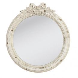 Obrázek výrobku: Zrcadlo s dekorem  - kulaté - VINTAGE STYLE