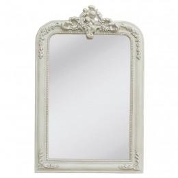 Obrázek výrobku: Zrcadlo obdélníkové s andělíčkem - 64*99 cm - VINTAGE STYLE