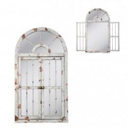 Obrázek výrobku: Nástěnné zrcadlo -  okno - 108*60*3 cm - VINTAGE STYLE