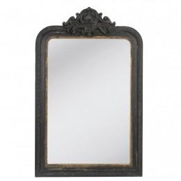 Obrázek výrobku: Zrcadlo - 77 * 120 cm  - černá, zlatá - VINTAGE STYLE