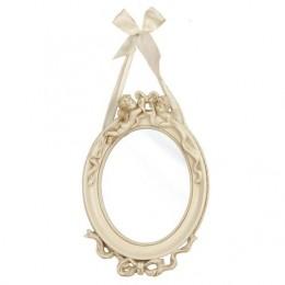 Obrázek výrobku: Zrcadlo oválné s andělíčky