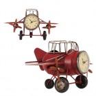 Výrobek: Model - letadla s hodinama - 26*17*15 cm - VINTAGE STYLE