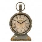 Výrobek: Stolní hodiny - 22 * 12 * 38 cm - VINTAGE STYLE
