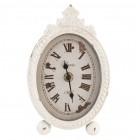 Výrobek: Stolní hodiny - pr 11 * 18 cm - VINTAGE STYLE