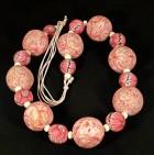 Výrobek: Růžovobílé korále