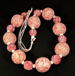 Obrázek výrobku: Růžovobílé korále