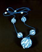 Výrobek: Modrobílé koule