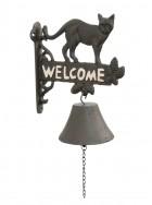 Výrobek: Zvonek kocour- 20*11*25 cm