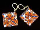 Výrobek: Oranžovomodré čtverce