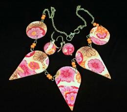 Obrázek výrobku: Rozkvetlý náhrdelník