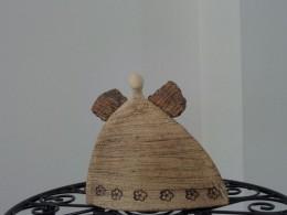 Obrázek výrobku: Anděl placatý, s kytičkama nebo bez - 14 cm
