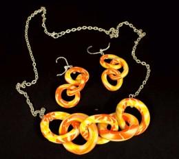 Obrázek výrobku: Oranžovožlutý řetěz
