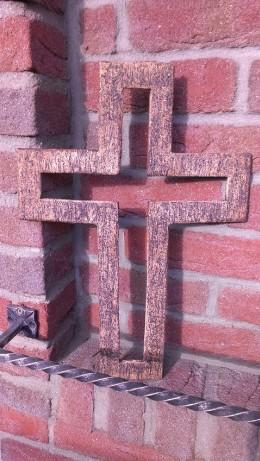 Obrázek výrobku: Kříž prázdný, 48 cm