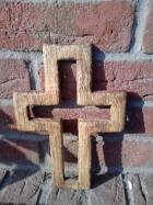 Výrobek: Kříž prázdný, 30 cm