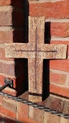 Výrobek: Kříž plný, 45 cm
